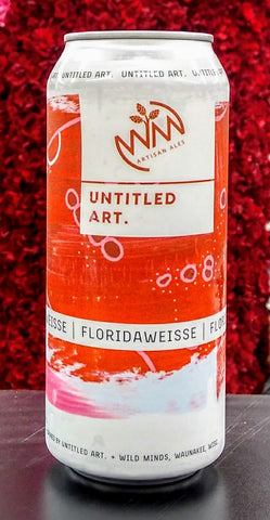 ARTISAN ALES UNTITLED ART. FLORIDAWEISSE SOUR ALE 16oz can