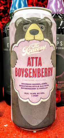 THE BRUERY ATTA BOYSENBERRY BA WHEATWINE ALE 16oz can
