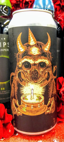 ABOMINATION BREWING CO. 1 YEAR ANNIVERSARY LACTOSE VANILLA TRIPLE DRY HOPPED IMPERIAL IPA 16 oz can
