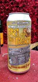 FULL CIRCLE BREWING CO. PIE OF THE TIGER APRICOT PIE SOUR ALE 16oz can