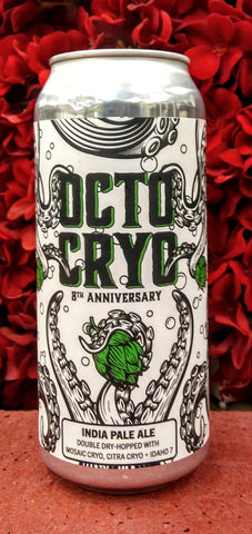 TRACK SEVEN BREWING CO. OCTO CRYO IPA 16oz can