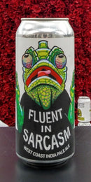 DEVIL'S CANYON BREWING CO. FLUENT IN SARCASM WEST COAST IPA 16oz can
