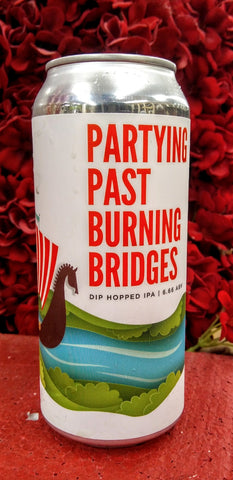 FAIR STATE BREWING COOP PARTYING PAST BURNING BRIDGES DIP HOPPED IPA 16oz can