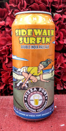 PIZZA PORT BREWING CO. SIDEWALK SURFIN' DOUBLE IPA 16oz can