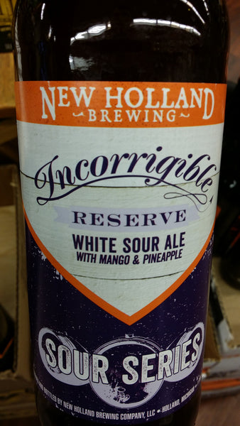 New Holland Incorrigible White Sour 22oz