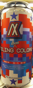 ARTIFEX BREWING FEELING THEM COLORS WITH LACTOSE DOUBLE IPA 16oz can