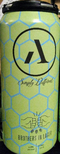 ABNORMAL BEER CO. BROTHERS IN LAGER 16oz can