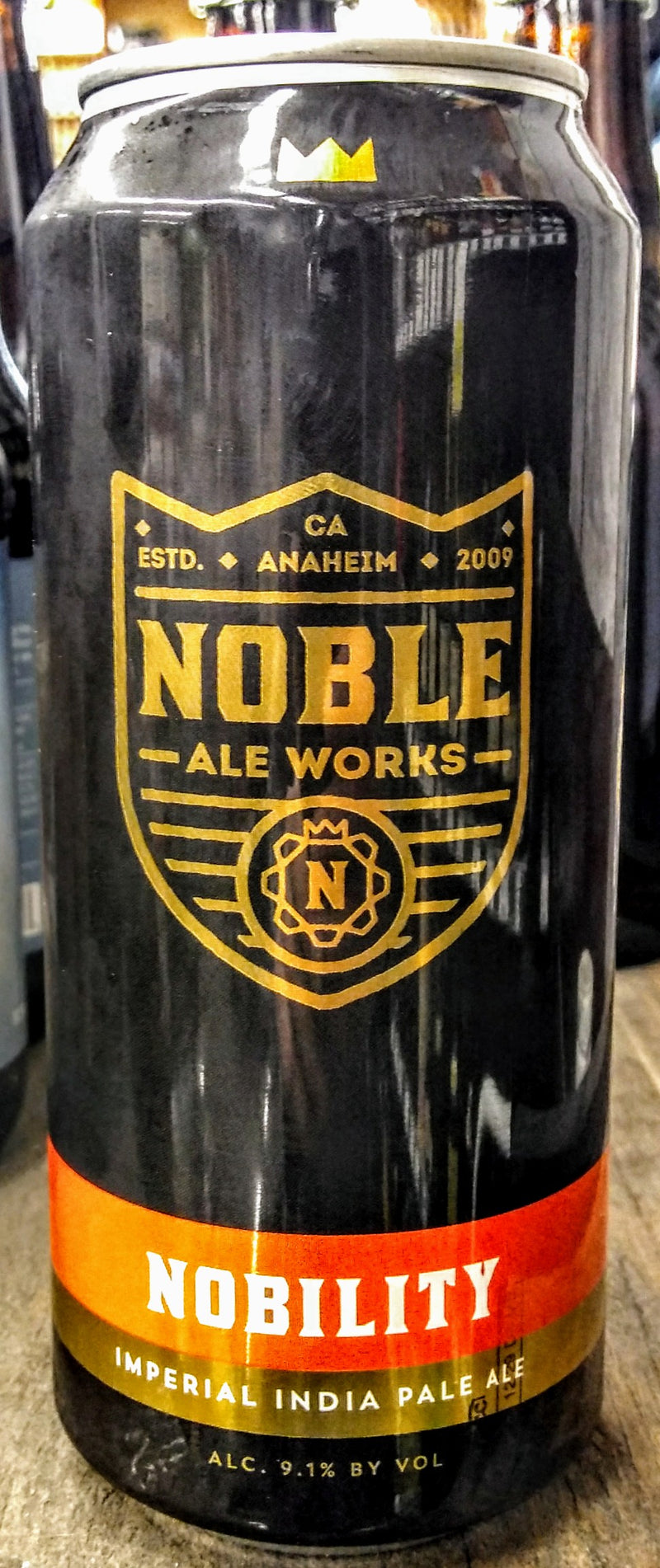 NOBLE ALE WORKS NOBILITY IMPERIAL IPA 16oz can