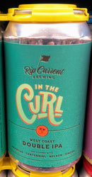 RIP CURRENT BREWING IN THE CURL WEST COAST DOUBLE IPA 12oz can