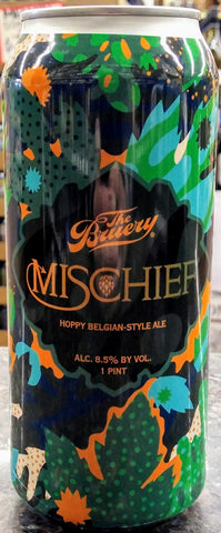 THE BRUERY MISCHIEF HOPPY BELGIAN STYLE ALE 16oz can