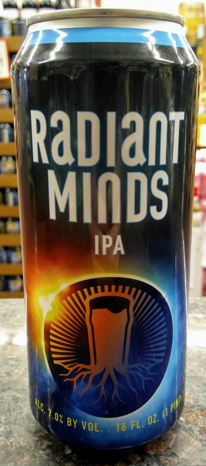 BURGEON BEER CO. RADIANT MINDS IPA 16oz can