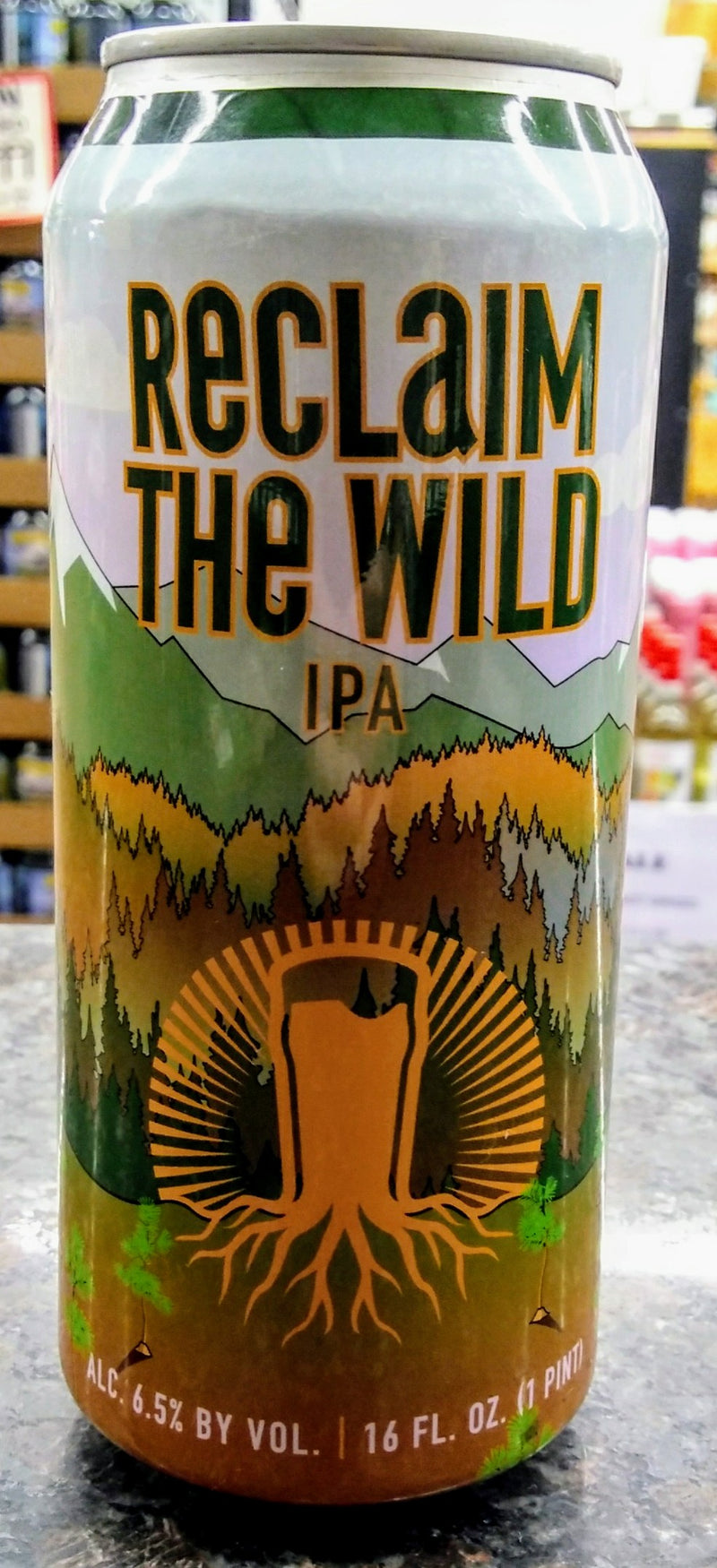 BURGEON BEER CO. RECLAIM THE WILD IPA 16oz can