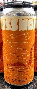 FAT ORANGE CAT BREWING CO. FOCLESS MONSTER NEW ENGLAND IPA 16oz can