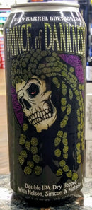 WILD BARREL BREWING CO. PRINCE OF DANKNESS DRY HOPPED DOUBLE IPA 16oz can