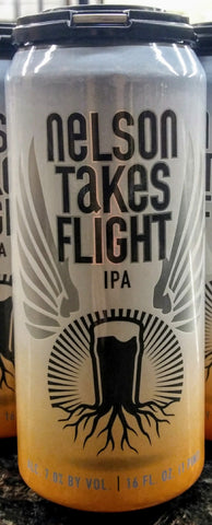 BURGEON BEER CO. NELSON TAKES FLIGHT IPA 16oz can