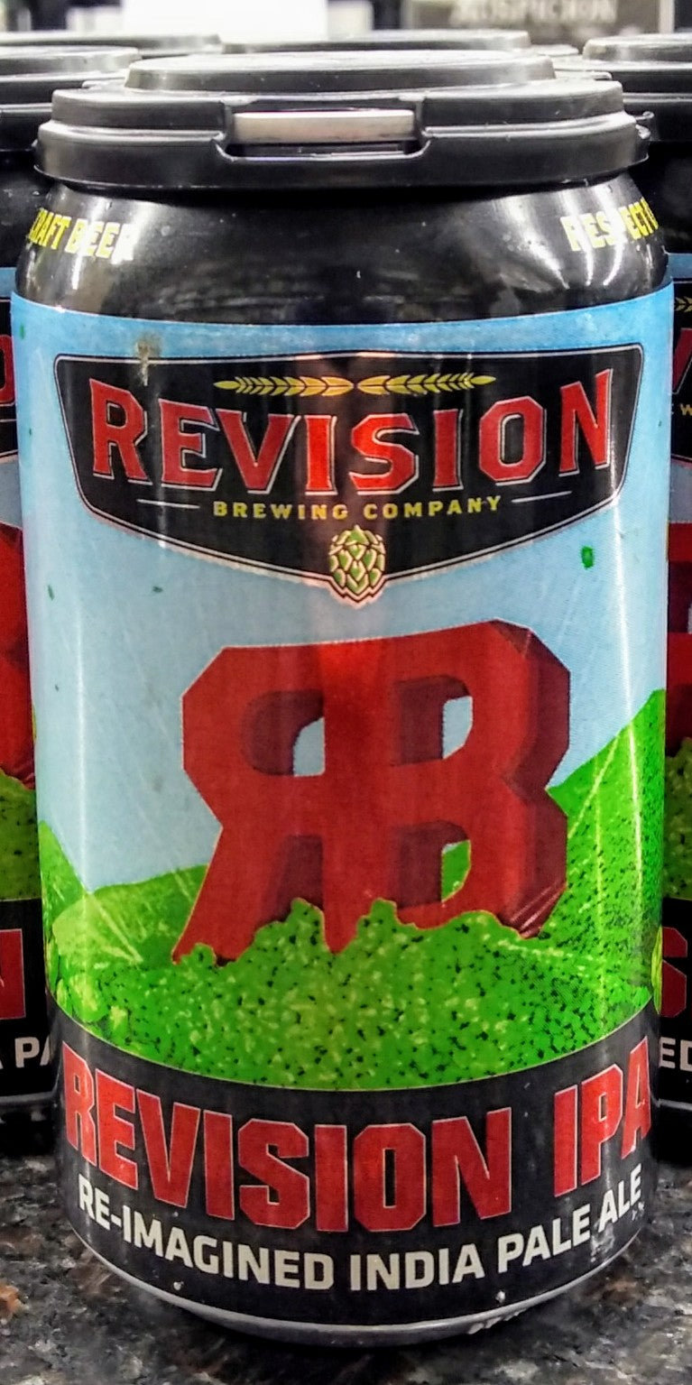 REVISION BREWING CO. RE-IMAGINED IPA 12oz can