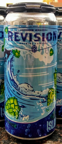REVISION BREWING CO. ISLAND WAVES HOPPY ALE 16oz can