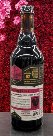 BOTTLE LOGIC BREWING 2020 JAM THE RADAR BA IMPERIAL RASPBERRY STOUT 500ML (LIMIT 1)