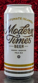 MODERN TIMES BEER FORTUNATE ISLANDS PALE ALE 16oz can