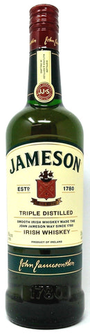 JAMESON ORIGINAL TRIPLE DISTILLED BLENDED IRISH WHISKEY
