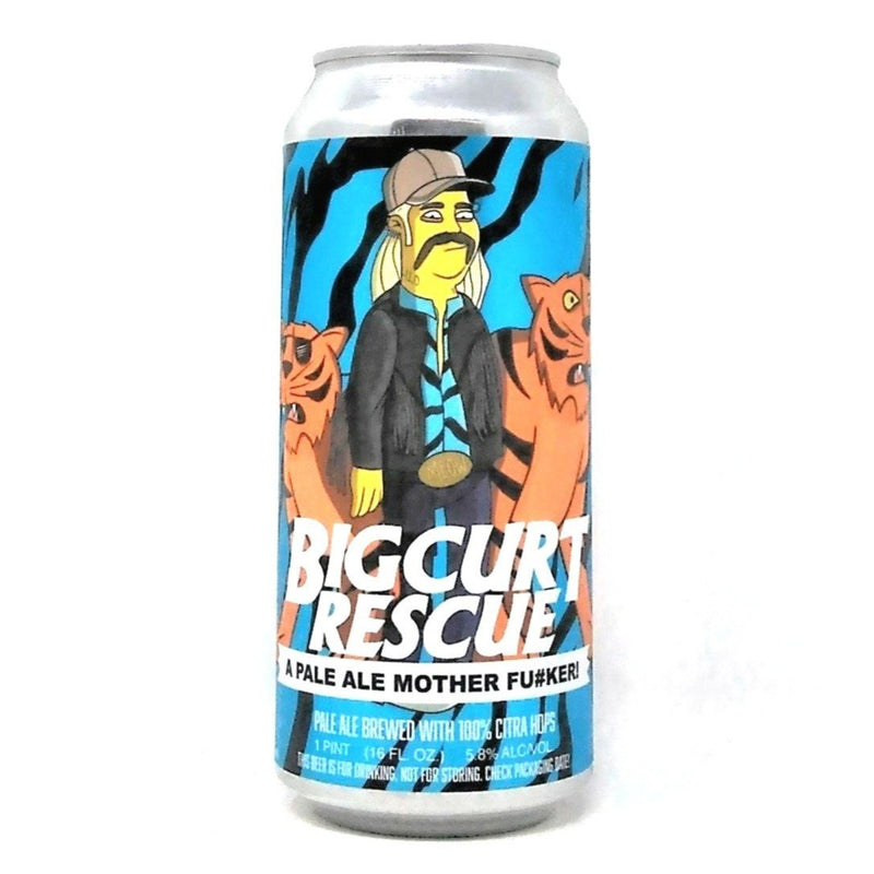 COOPERAGE BREWING CO. BIG CURT RESCUE CITRA PALE ALE 16oz can