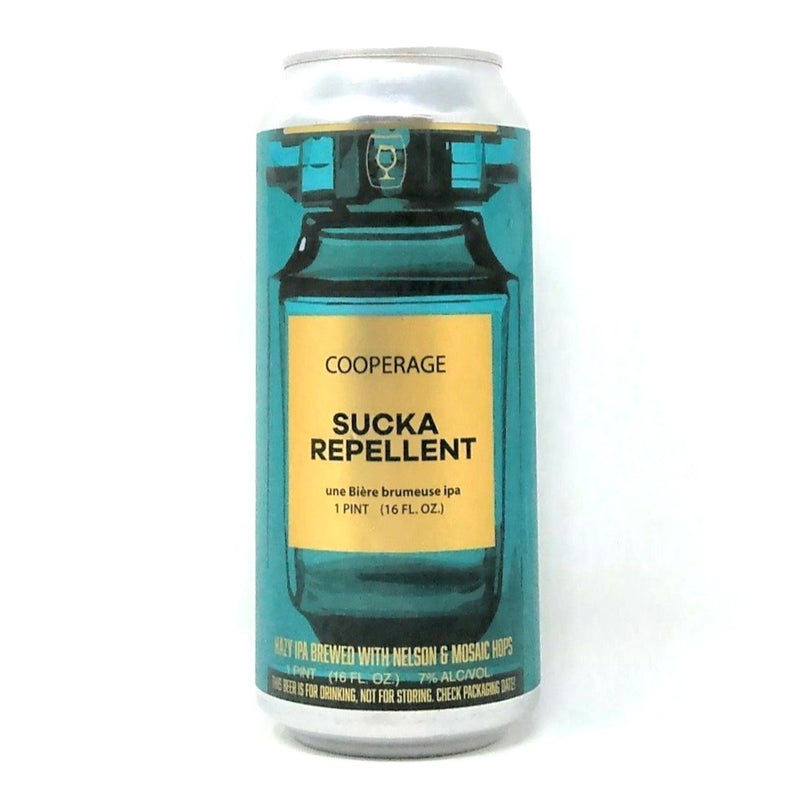 COOPERAGE BREWING CO. SUCKA REPELLANT HAZY IPA 16oz can