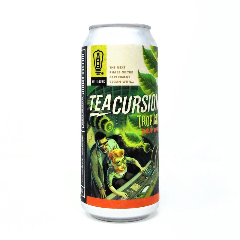 BOTTLE LOGIC BREWING TEACURSION TROPICAL TEA IPA 16oz can
