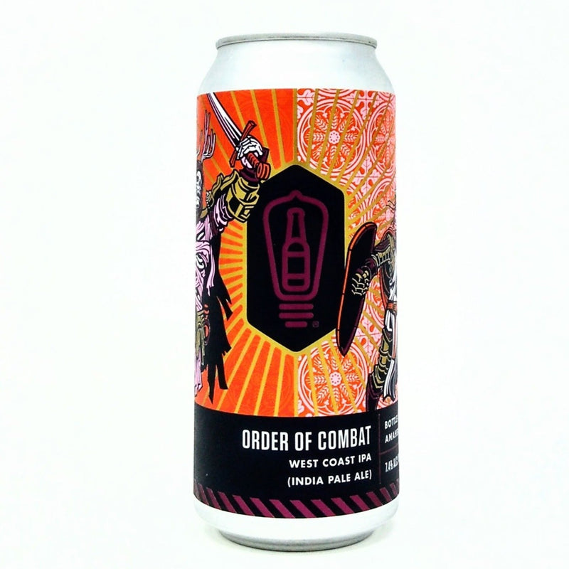 BOTTLE LOGIC BREWING ORDER OF COMBAT WEST COAST IPA 16oz can