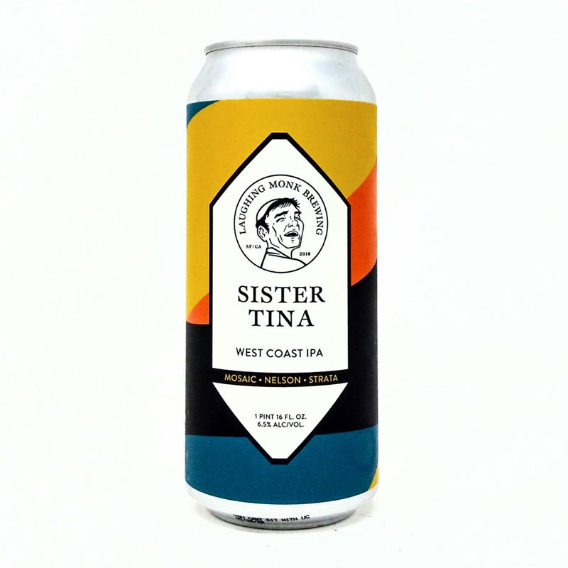 LAUGHING MONK BREWING SISTER TINA WEST COAST IPA 16oz can