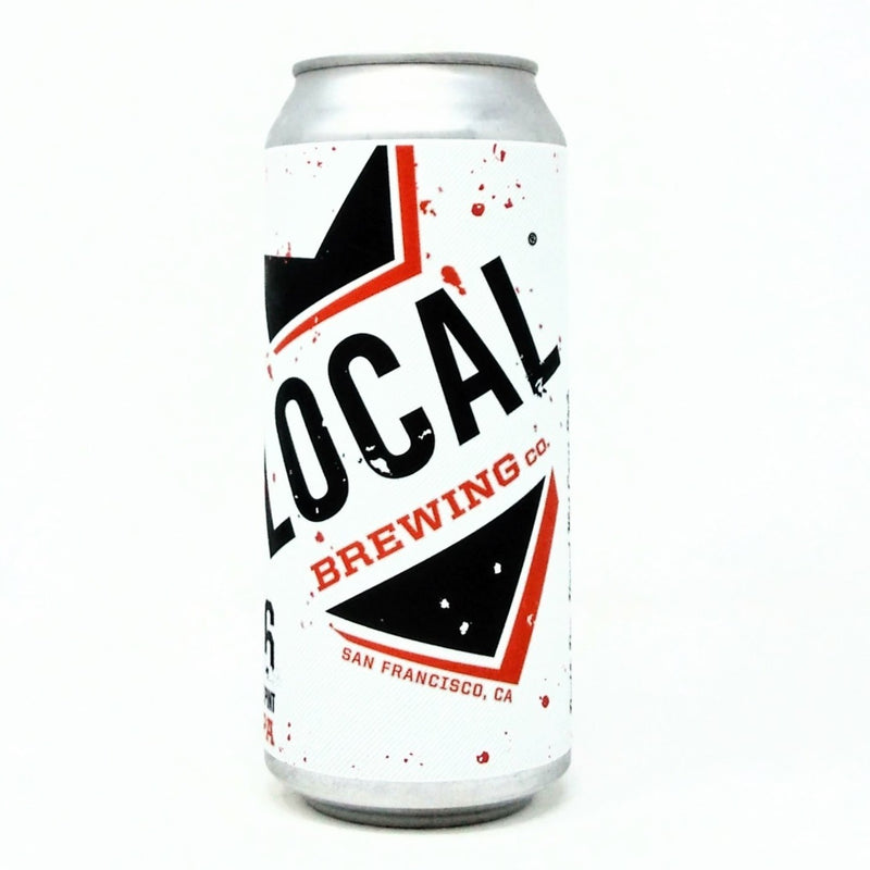 LOCAL BREWING CO. DUBOCE IPA DDH WEST COAST IPA 16oz can