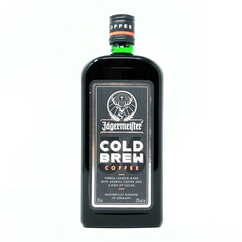 JAGERMEISTER COLD BREW COFFEE GERMAN LIQUEUR