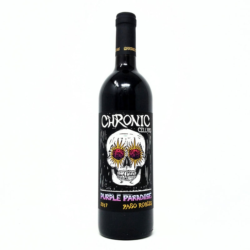 CHRONIC CELLARS 2017 PURPLE PARADISE RED BLEND PASO ROBLES WINE