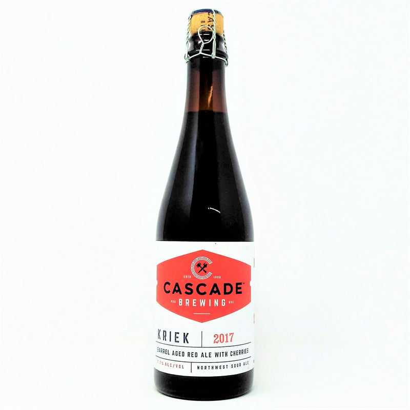 CASCADE BREWING 2017 KRIEK BA NORTHWEST SOUR ALE 500ml