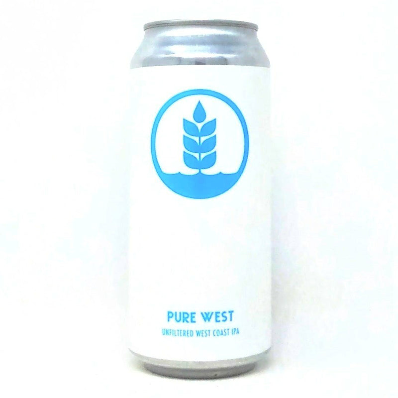 PURE PROJECT PURE WEST UNFILTERED WEST COAST IPA 16oz can