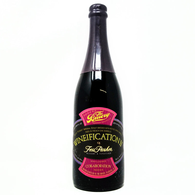 The Bruery Wineification II 2014 750ml (LIMIT 1)