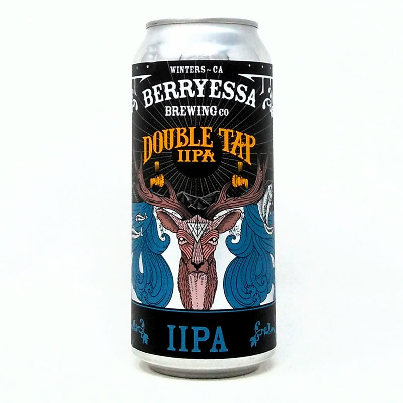 BERRYESSA BREWING CO. DOUBLE TAP DOUBLE IPA 16oz can