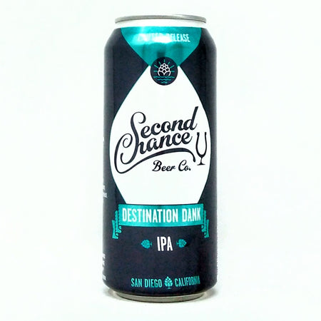 SECOND CHANCE BEER CO. DESTINATION DANK IPA 16oz can