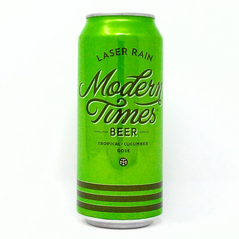 MODERN TIMES BEER LASER RAIN TROPICAL CUCUMBER GOSE SOUR ALE 16oz can