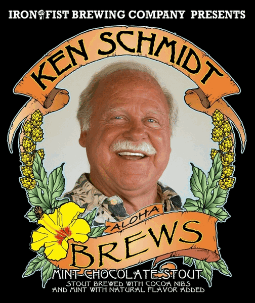 Iron Fist Ken Schmidt Brews Mint Chocolate Stout