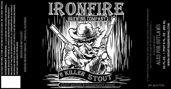 Ironfire 6 Killer Stout