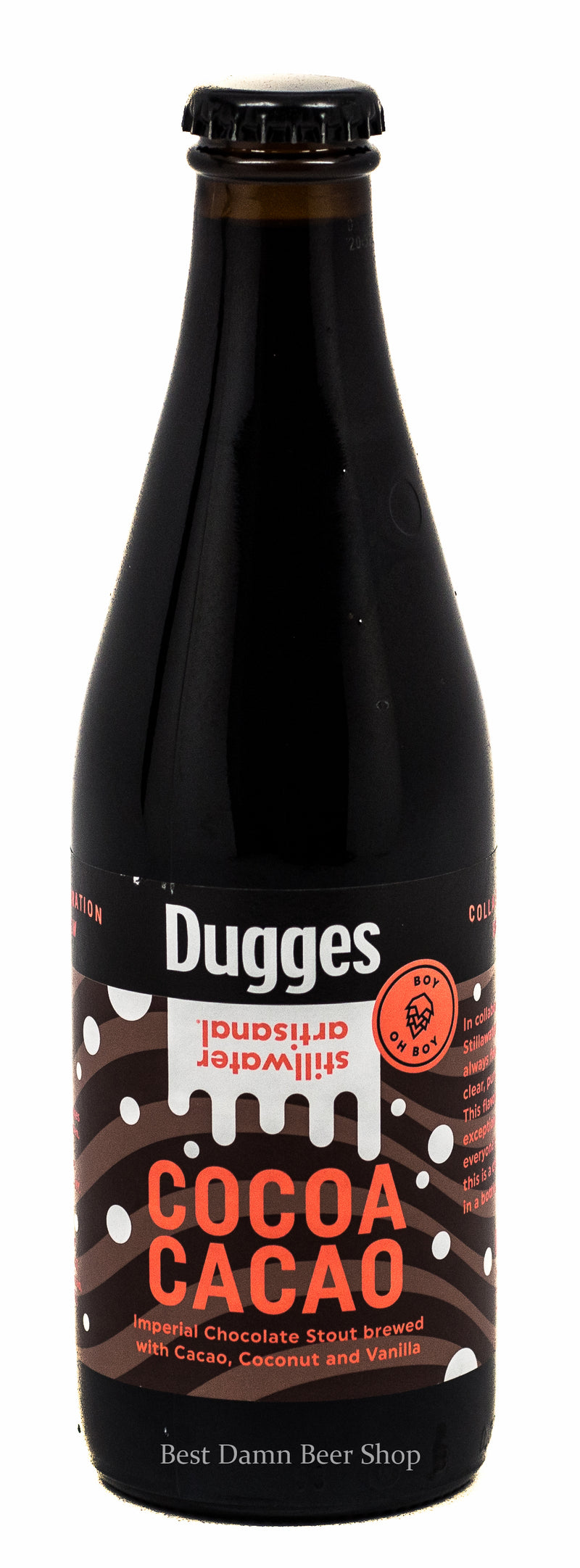 STILLWATER DUGGES COCOA CACAO IMPERIAL STOUT 11.2oz