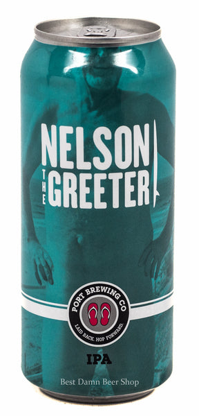 Port Brewing Nelson The Greeter IPA 16oz cans