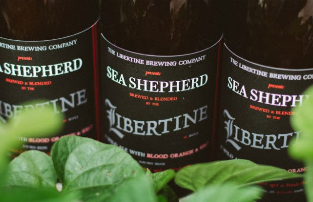 Libertine Sea Shepherd 40 yrs Blood orange and kelp 750ml