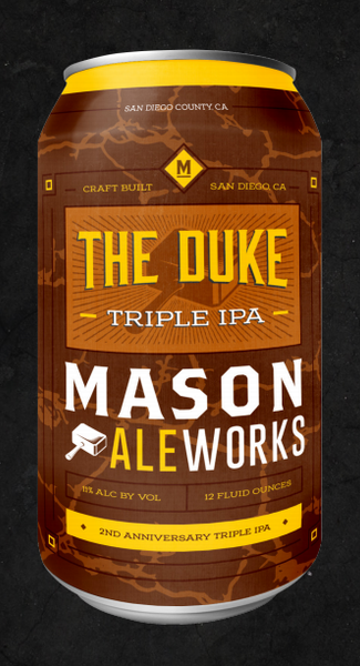 Mason Aleworks The Duke 12oz Can