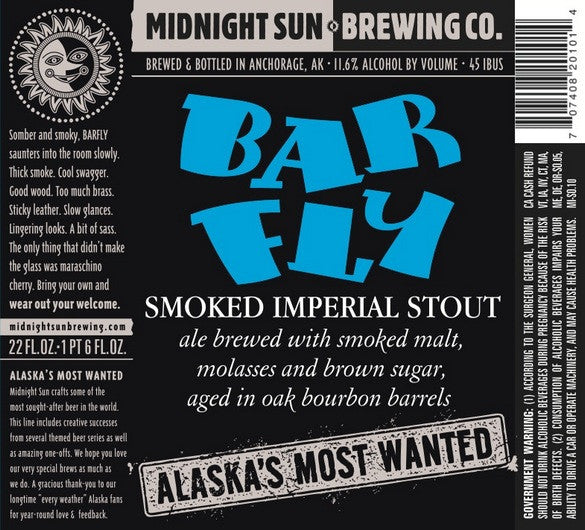 Midnight Sun Barfly Barrel Aged Smoked Imperial Stout LIMT 2
