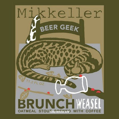 Mikkeller Beer Geek Brunch Weasel 12oz