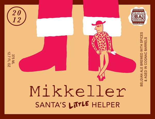Mikkeller Santa's Little Helper Belgian Strong Ale Aged in Cognac Barrels