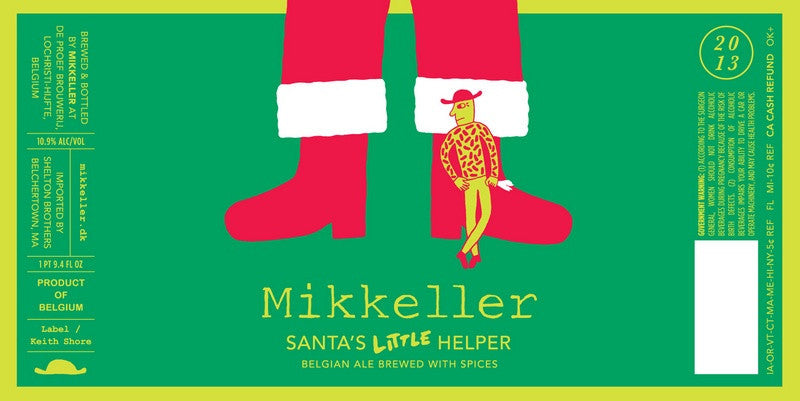 Mikkeller Santa's Little Helper Belgian Ale