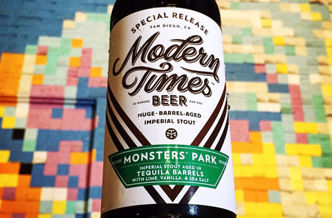 Modern Times Monster's Park Tequila 22oz