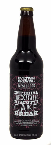 Westbrook/Evil Twin collab Imperial Mexican Biscotti Cake Break 22oz